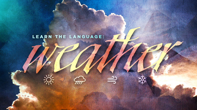 Language : Weather