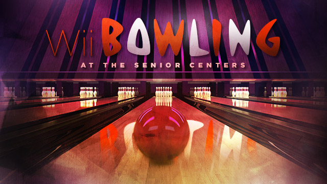 Health : Wii Bowling at the Senior Centers