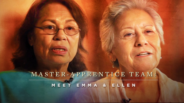 Language : Emma & Ellen : Master-Apprentice Team