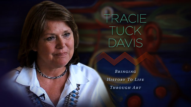 Arts : Tracie Tuck Davis : Bringing History to Life Through Art