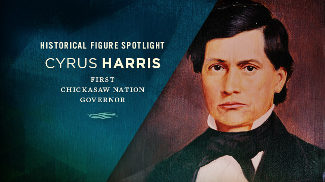 History & Culture : Historic Figure Spotlight : Cyrus Harris