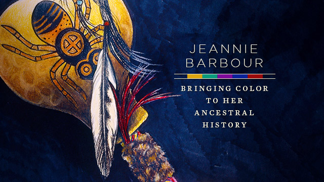 Arts : Jeannie Barbour : Bringing Color to Her Ancestral History