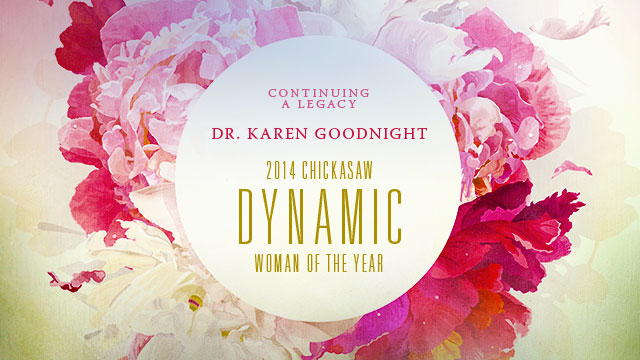 Gateway : Dr. Karen Goodnight : Chickasaw Dynamic Woman of the Year