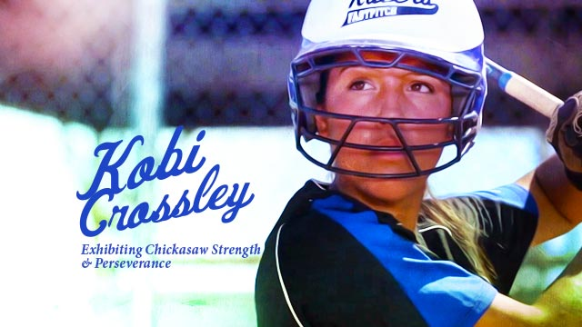 Gateway : Kobi Crossley : Exhibiting Chickasaw Strength