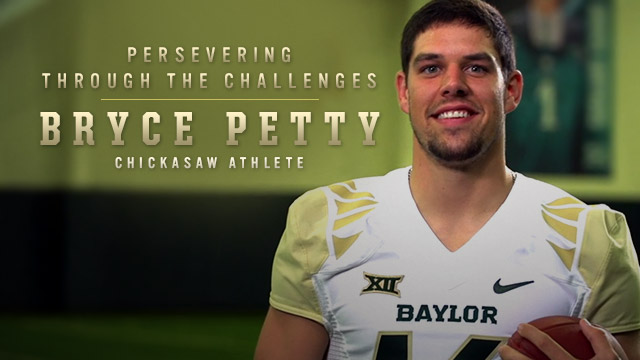Bryce Petty : Persevering Through the Challenges : Chickasaw Athlete