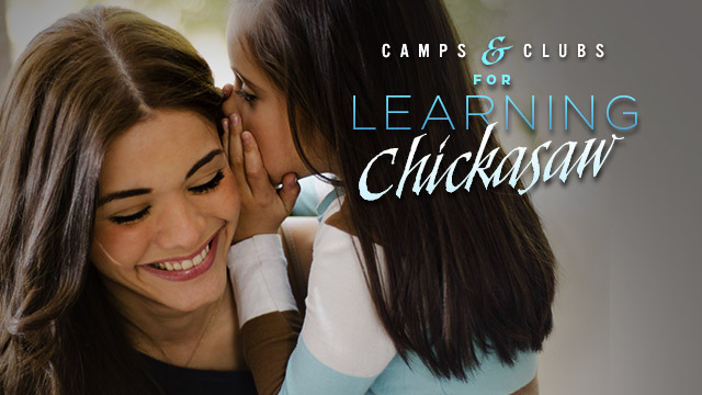 Language : Camps & Clubs for Learning Chickasaw