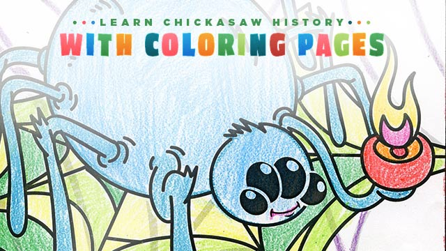 History : Learn Chickasaw History with Coloring Pages