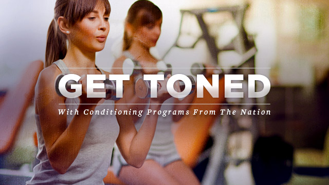 Health : Get Toned with Conditioning Programs from the Nation