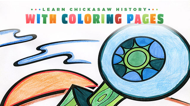 Gateway : Learn Chickasaw History with Coloring Pages