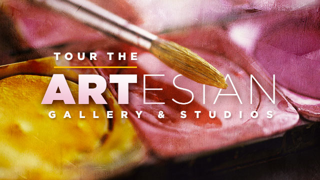 Arts : Tour the ARTesian Gallery and Studios