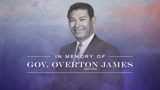 Gateway : In Memory of Gov. Overton James