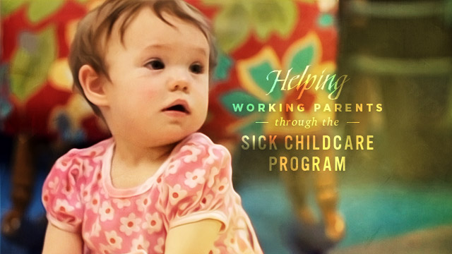 Health : Sick Childcare Program