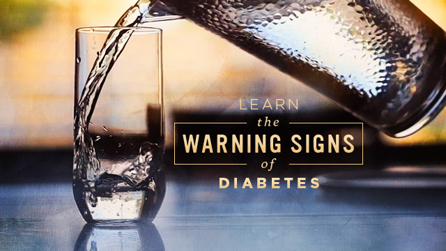 Health : Learn the Warning Signs of Diabetes