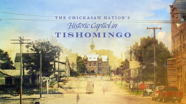 The Chickasaw Nation's Historic Capitol in Tishomingo