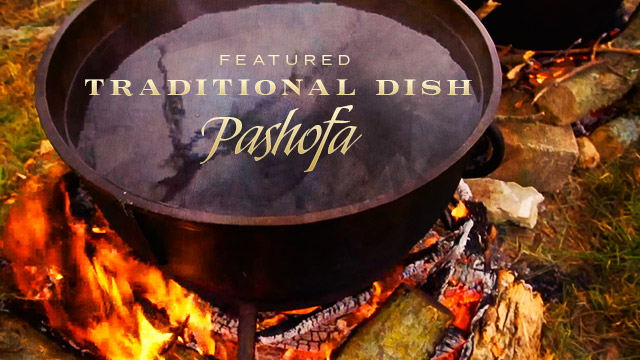 Health : Featured Traditional Dish Pashofa