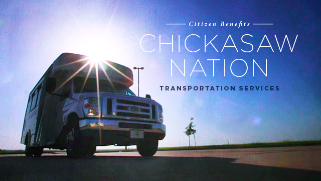 Gateway : Citizen Benefits : Chickasaw Nation Transportation Services