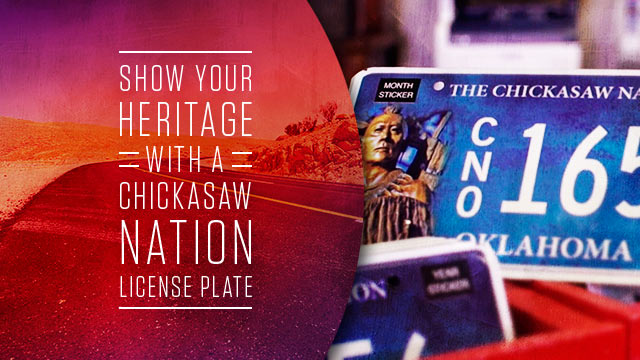 Gateway : Chickasaw Nation License Plate