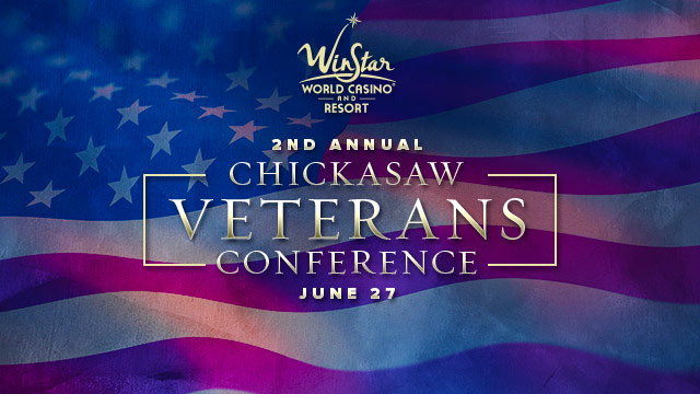 Gateway : 2nd Annual Chickasaw Veterans Conference