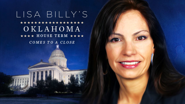 History & Culture : Lisa Billy's Oklahoma House Term Comes to a Close