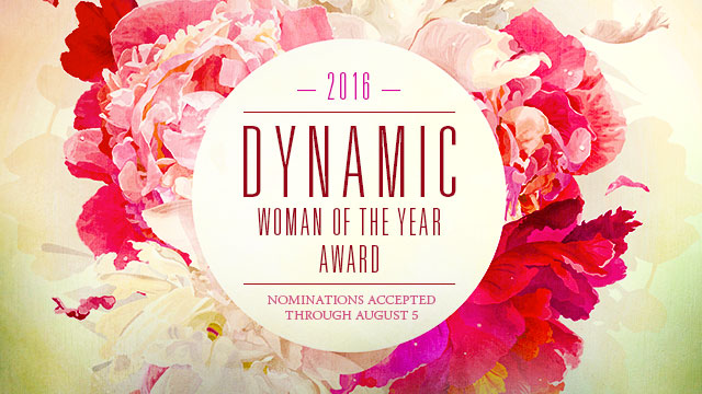Gateway : 2016 Dynamic Woman of the Year Award