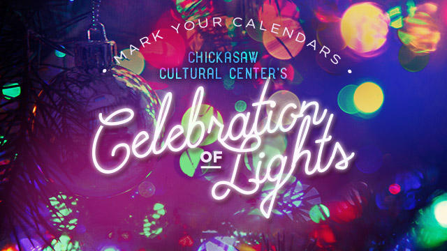 Gateway : Chickasaw Cultural Center's Celebration of Lights