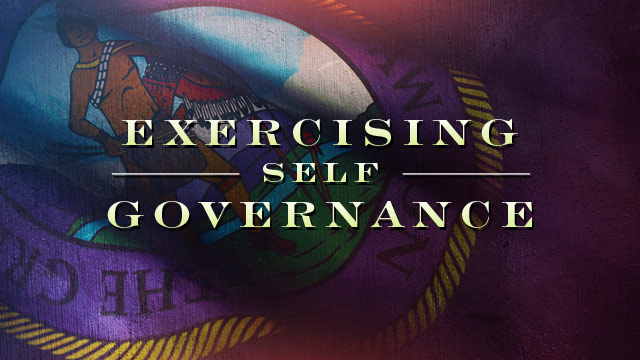 History & Culture : Exercising Self Governance