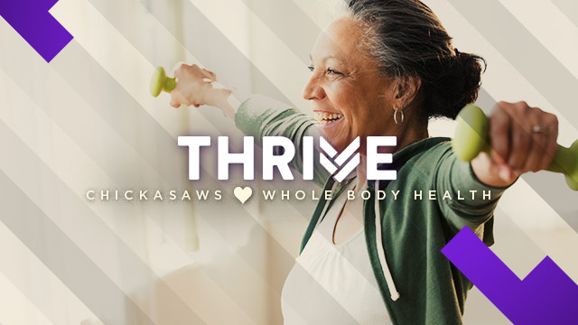 Thrive : Chickasaws Whole Body Health
