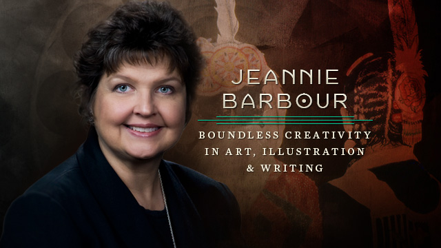 Arts : Jeannie Barbour - Boundless Creativity in Art, Illustration & Writing
