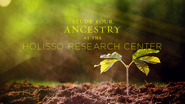 Gateway : Study Your Ancestry at the Holisso Research Center