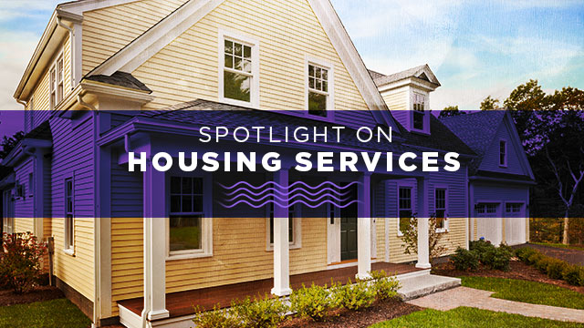 Spotlight on Housing Services