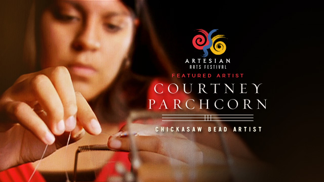 Arts : Courtney Parchcorn - Chickasaw Bead Artist