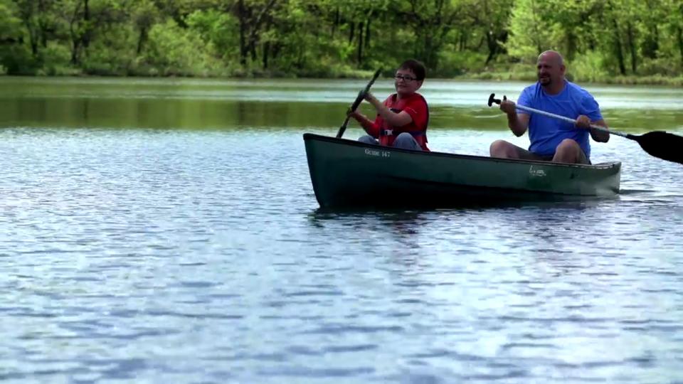 Chickasaw tv hayaka unta family camp for Spring warrior fish camp