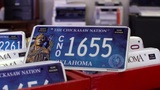 Chickasaw Nation License Plates